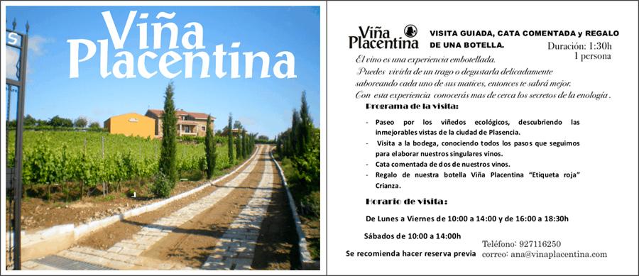 Enoturismo Extremadura Viña Placentina